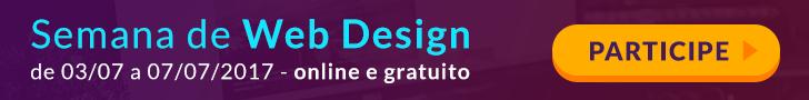 Semana de Web Design - online e gratuito- Participe