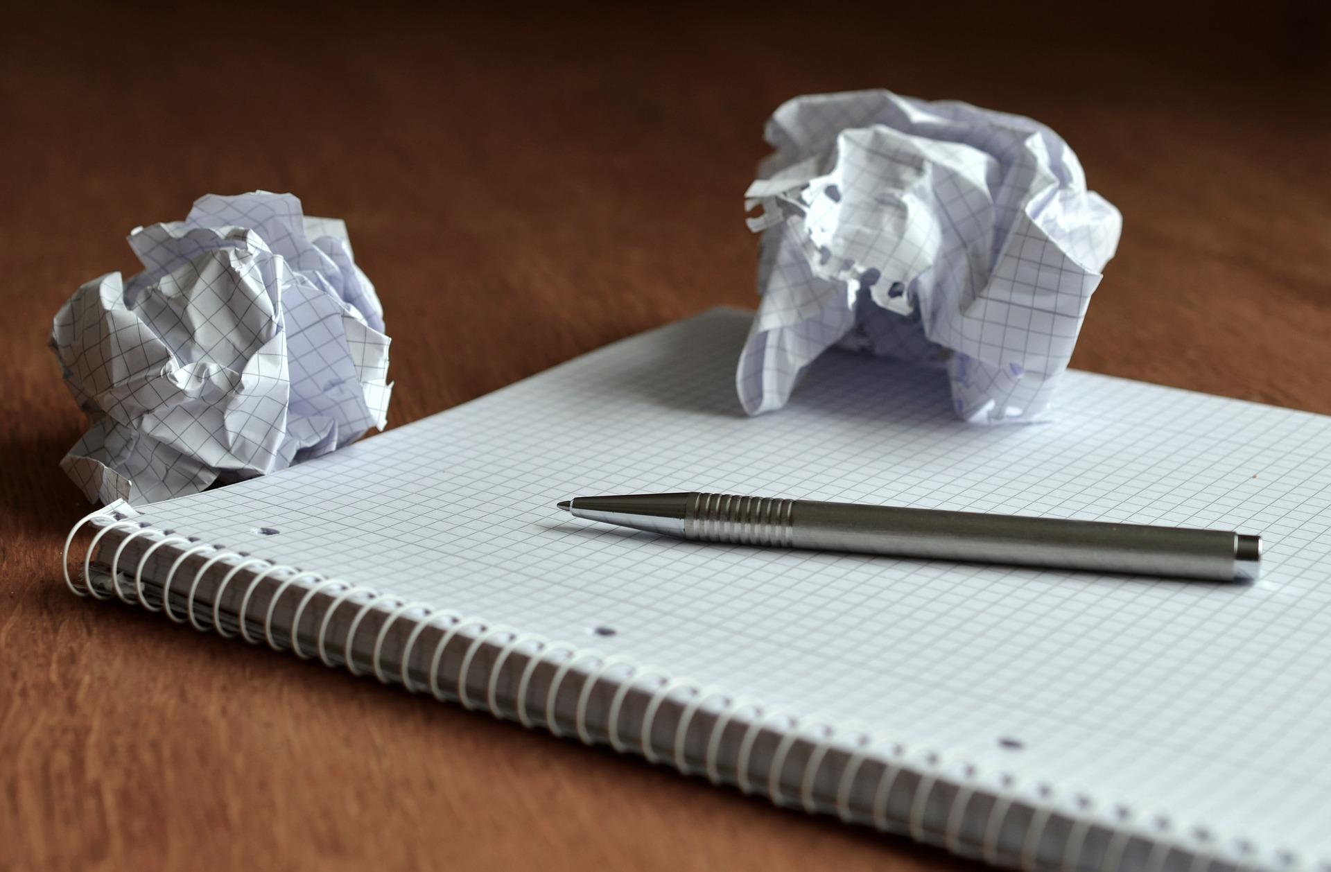 Sem ideias no papel