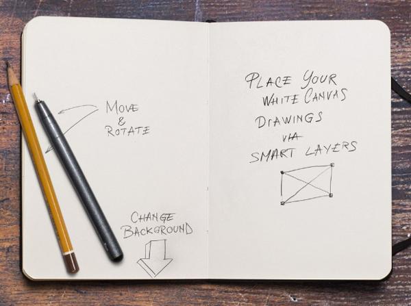 Bloco para anotar as ideias criativas