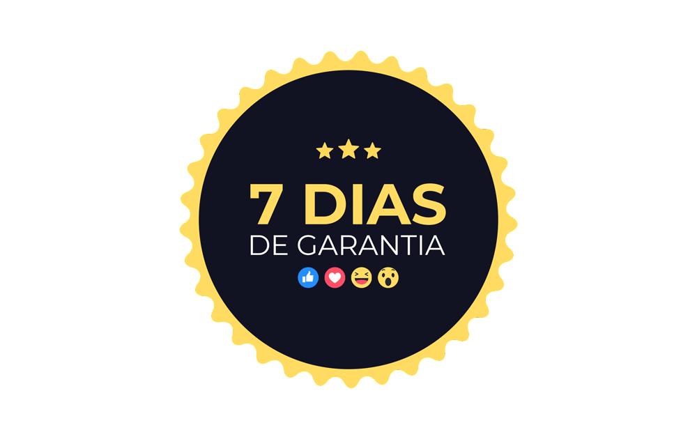 Design para social media - garantia do curso de 7 dias